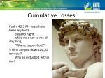 cumulative losses