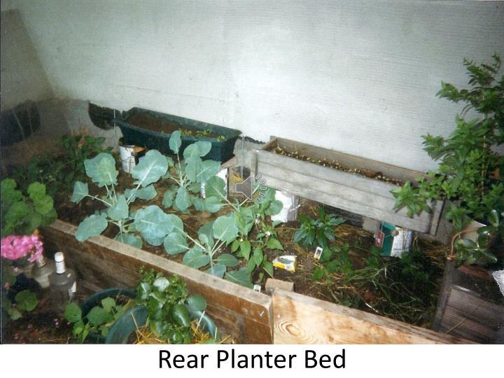 Rear Planter Bed