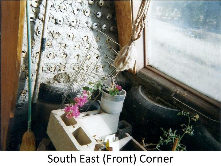 South East (Front) Corner