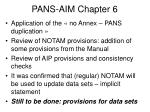 pans aim chapter 6