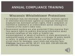 annual compliance training113