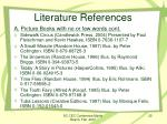 literature references6