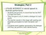 strategies part 2