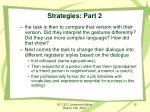 strategies part 22