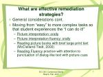 what are effective remediation strategies1