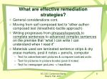 what are effective remediation strategies2