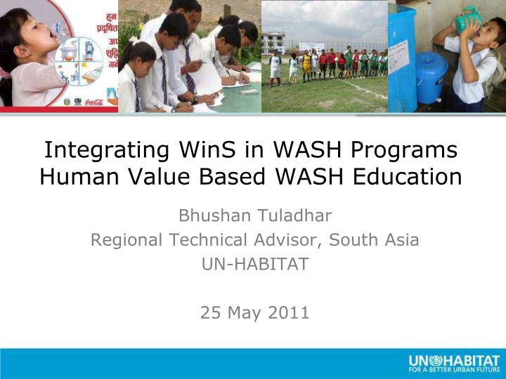 integrating wins in wash programs human value based wash education n.