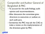 comptroller and auditor general of bangladesh pac1