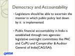 democracy and accountability1