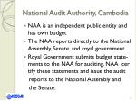 national audit authority cambodia