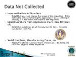 data not collected