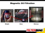magnetic oil filtration
