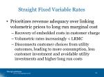 straight fixed variable rates