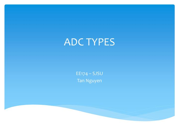 adc types n.
