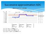 successive approximation adc1