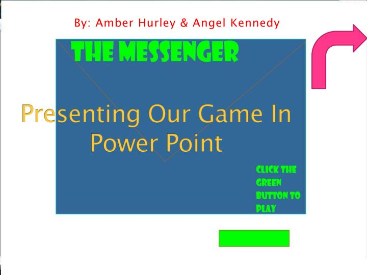 presenting our game in power point n.