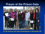 prayer at the prison gate