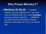 why prison ministry2