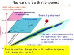 nuclear chart with strangeness