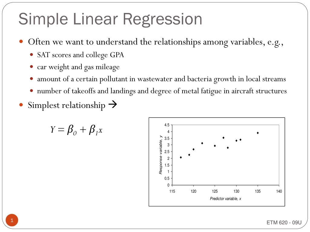 PPT - Simple Linear Regression PowerPoint Presentation ...