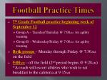 football practice times1