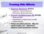 treating side effects