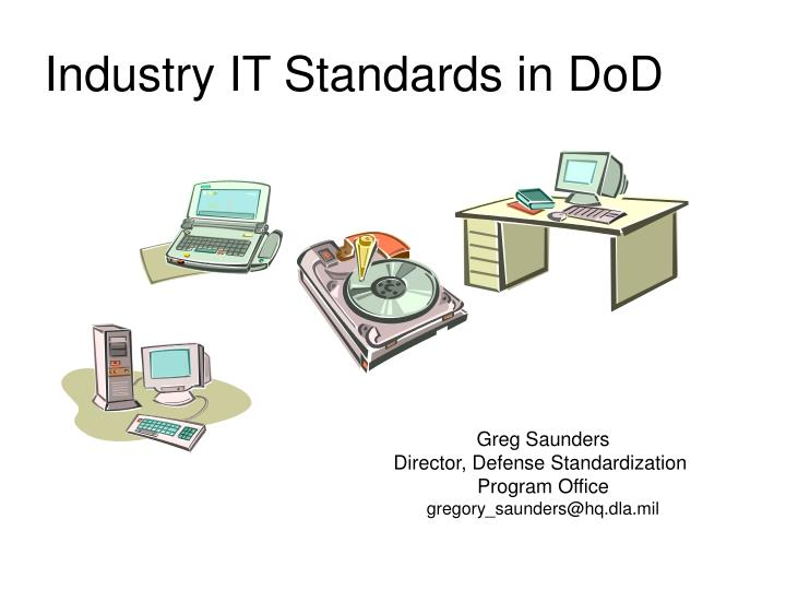industry it standards in dod n.