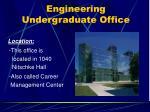 engineering undergraduate office1