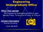 engineering undergraduate office3