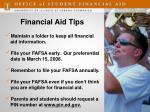 financial aid tips1