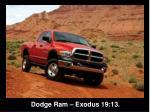 dodge ram exodus 19 13