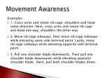 movement awareness