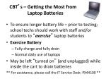 cbt s getting the most from laptop batteries