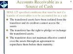 accounts receivable as a source of cash1