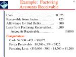 example factoring accounts receivable1