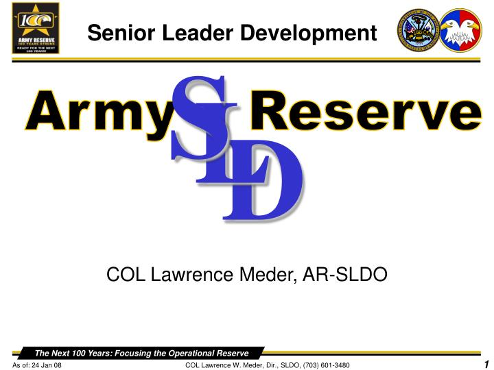 Ppt army reserve powerpoint presentation id6867254 s l d army reserve toneelgroepblik Image collections