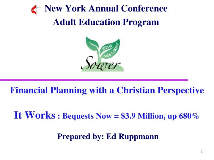 new york annual conference adult education program n.