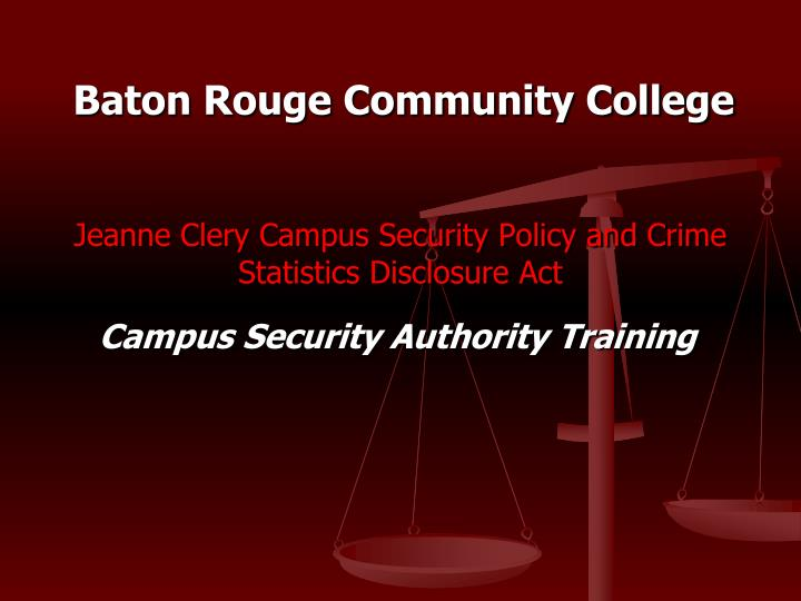 jeanne clery campus security policy and crime statistics disclosure act n.