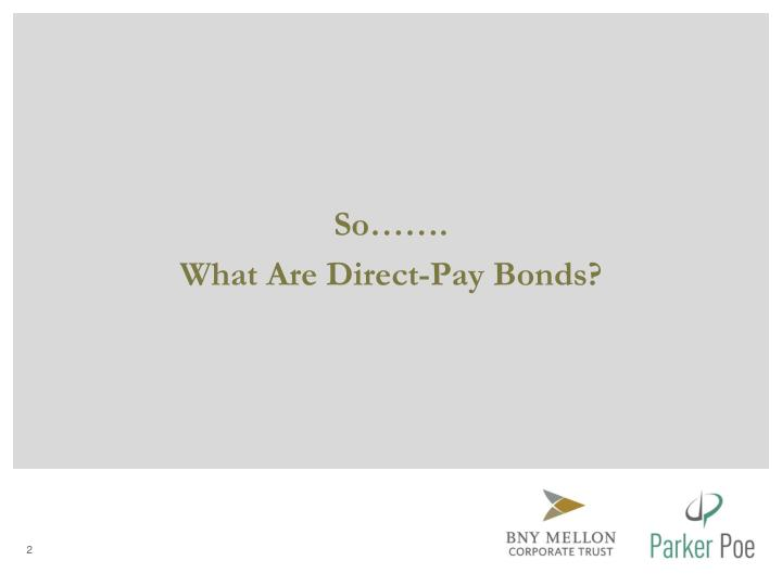 Ppt Irs Compliance Reporting For Direct Pay Bonds Powerpoint