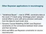 other bayesian applications in neuroimaging