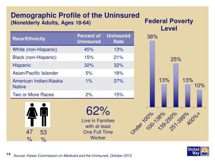 Demographic Profile of the Uninsured