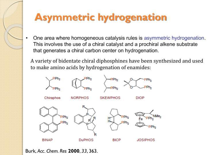 Asymmetric hydrogenation