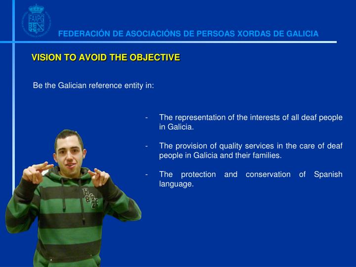 Be the Galician reference entity in: