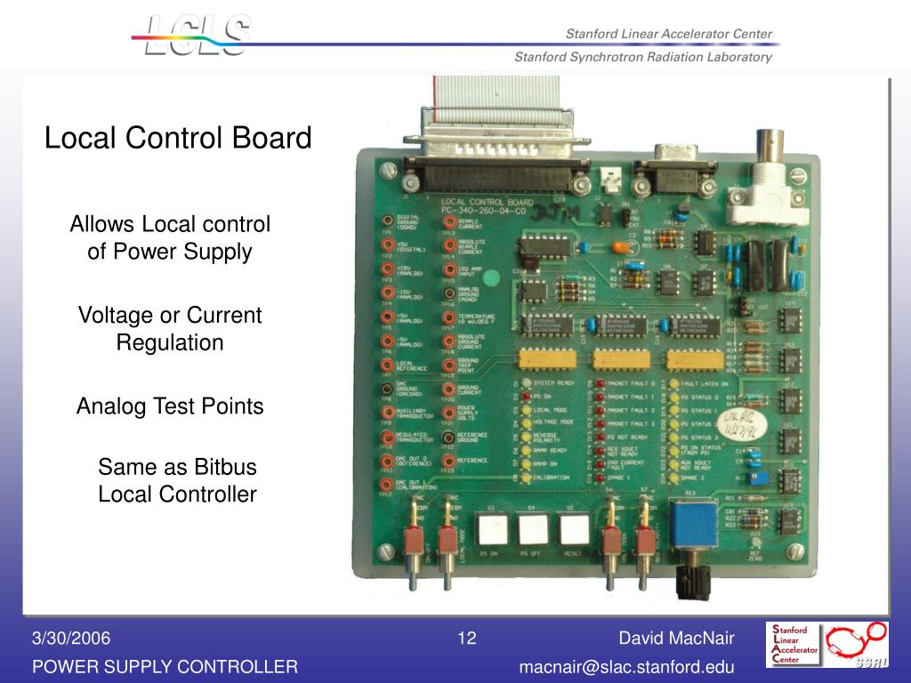 PPT - Ethernet Power Supply Controller PowerPoint