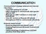 communicatio n