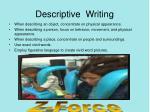 descriptive writing1