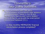 commander s data quality statement3