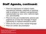 staff agenda continued1