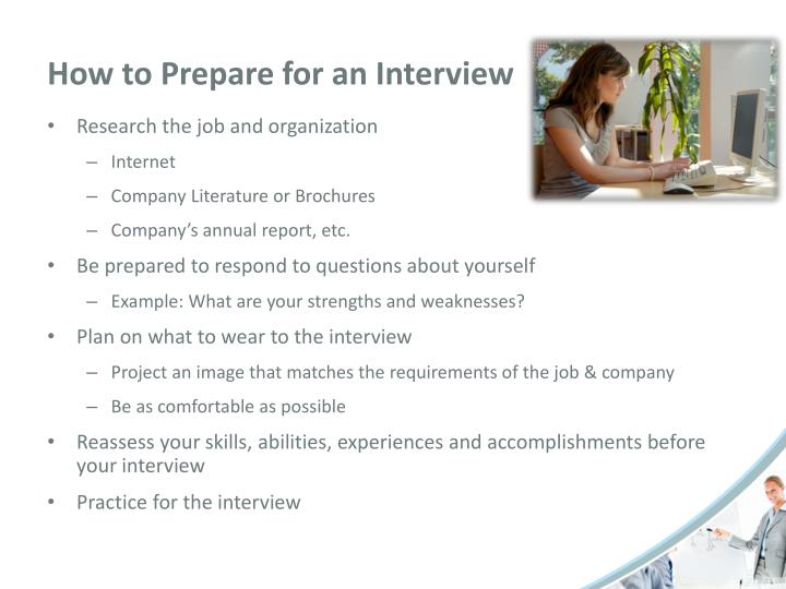 Ppt Job Interviewing Skills Powerpoint Presentation Id