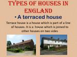 types of houses in england2